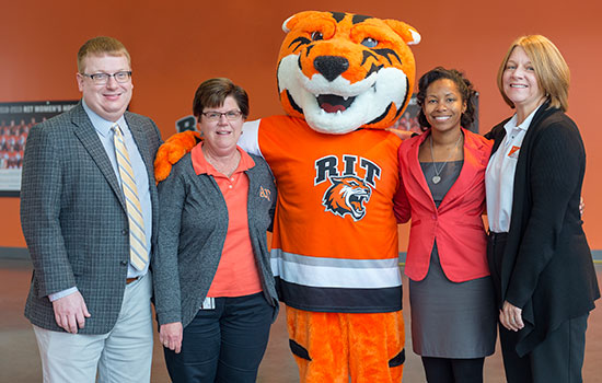 Four RIT faculty and staff alumni receive Golden Brick Award