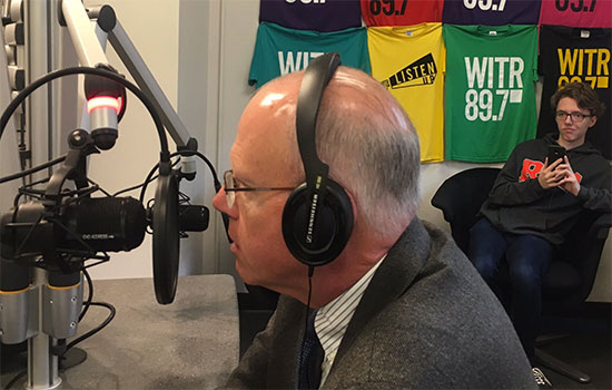 President Munson to field questions on WITR radio show