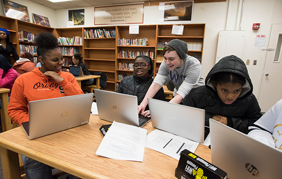 RIT & AT&T Mobile Tech Lab brings hands-on STEM education to Rochester high schools