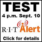 RIT Alert test Sept. 10