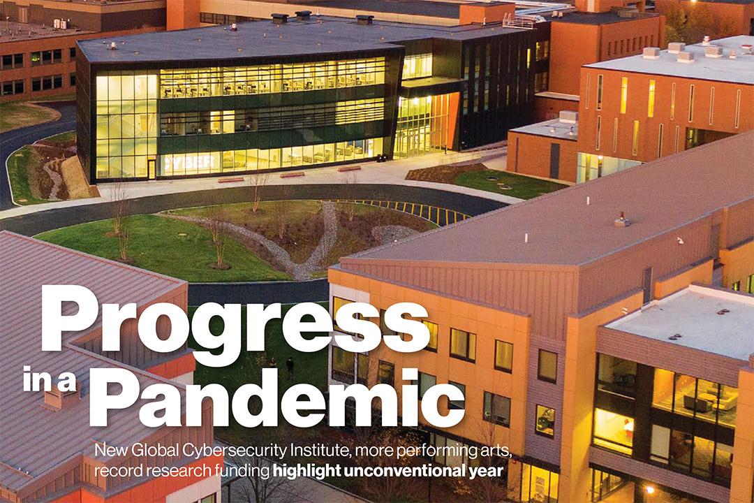 President's Report 2021: Progress in a Pandemic