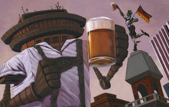 D&C: RIT grad's artwork featured on beer bottle labels