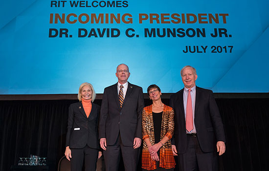 A Year in the Life with President Munson and RIT