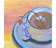 painting of a cup of coffee
