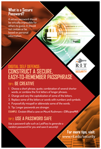 Passphrases poster