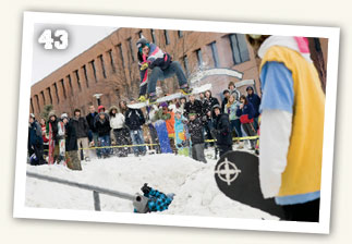 Rail Jam competition at RIT