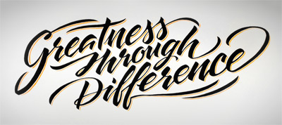 Greatness through Difference mural