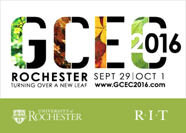 GCEC 2016 conference logo