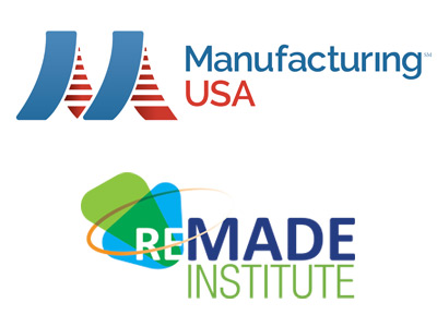 Manufacturing USA and REMADE Institute logos