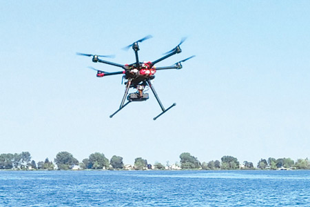 Photo of DJI S900 n-copter