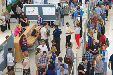 Large crowd at last year's Undergraduate Research Symposium