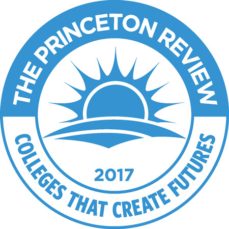 2017 logo for Colleges that Create Furture from The Princetown Review