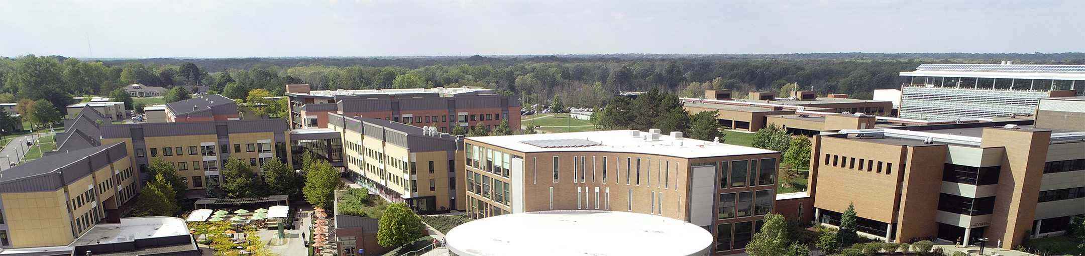Overhead picture of the Student Innovation Center