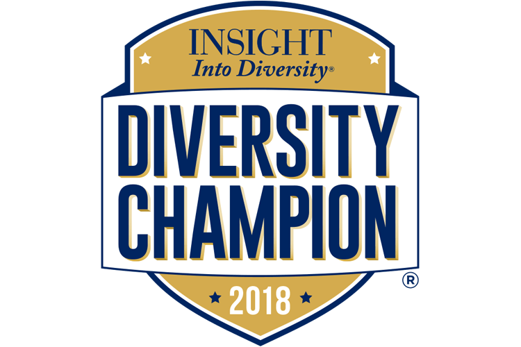 Diversity Champion award logo from INSIGHT into Diversity magazine