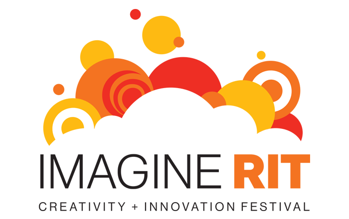 Logo for Imagine RIT, RIT's creativity and innovation festival
