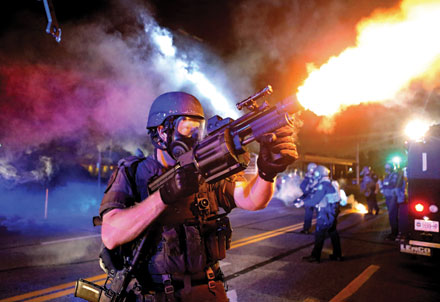 David Carson's Ferguson photo