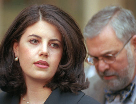Dan Loh's photo of Monica Lewinsky and her attorney