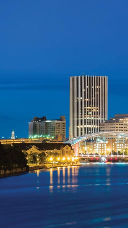 Part 1 of the rochester skyline