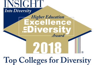Insight into Diversity: Higher Education Excellence in Diversity Award 2018. Top colleges for diversity.