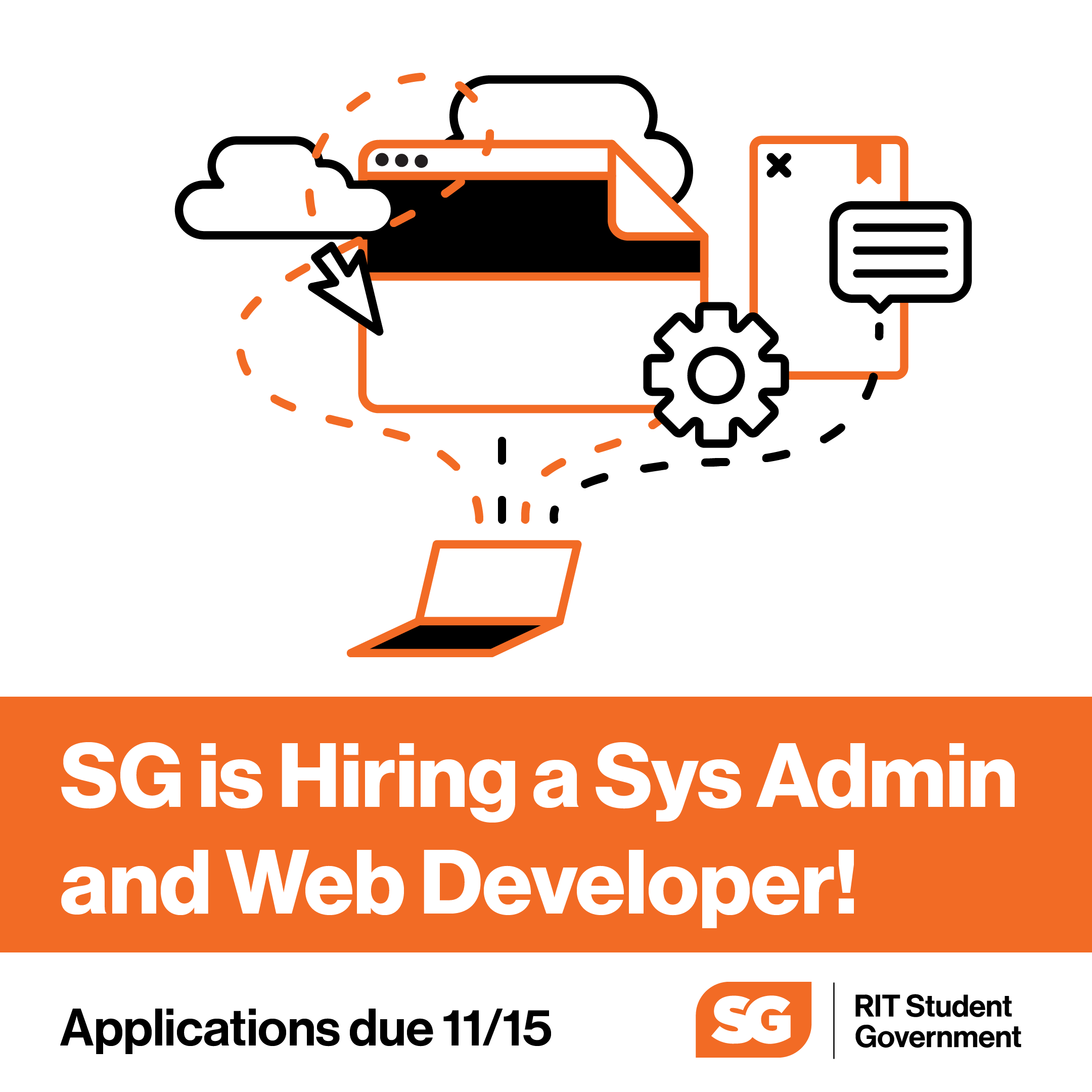 Services Team is Hiring a Web Developer and Systems Admin!