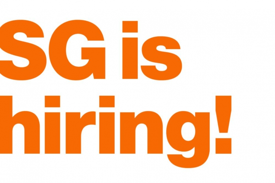 SG is hiring!