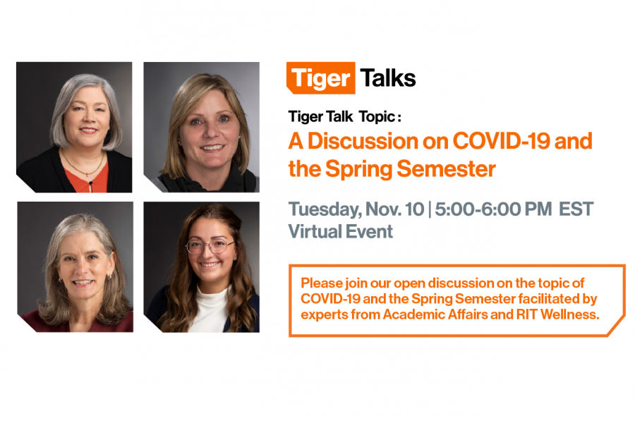 TigerTalk: A Discussion on COVID-19 and the Spring Semester