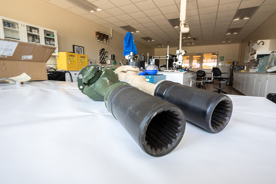 Driveshafts remanufactured for Marines