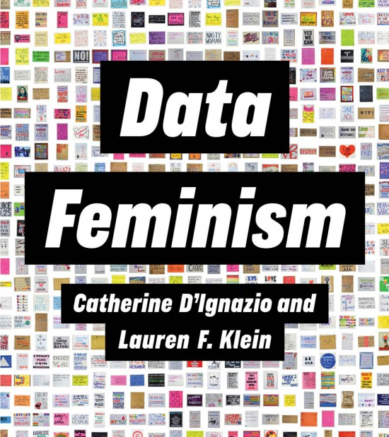 Picture of the Data Feminism book cover