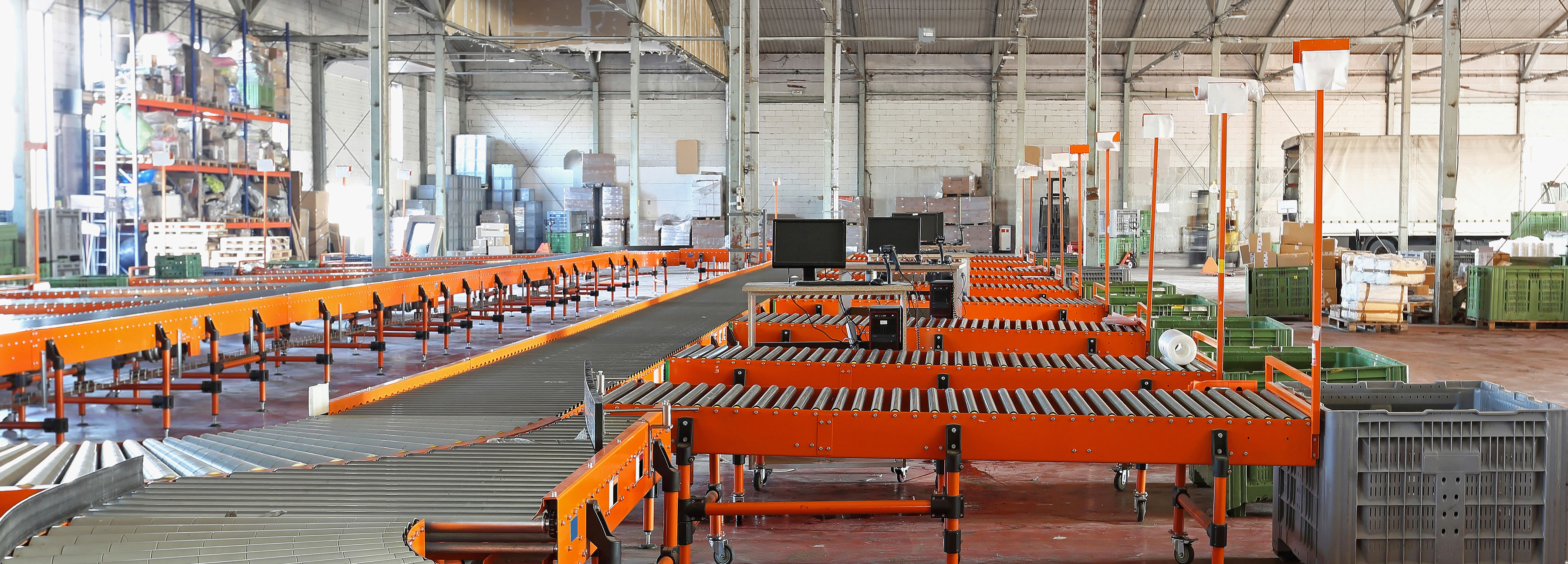 A warehouse ready for production
