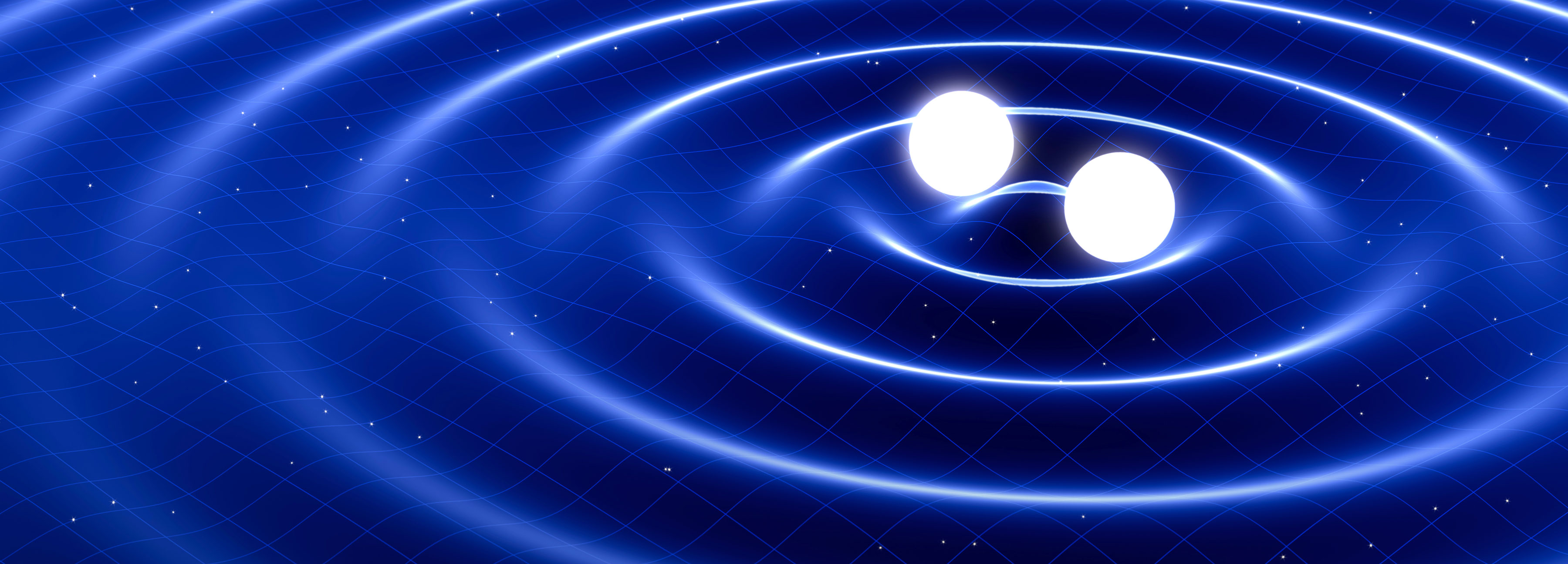 Image of gravitational waves